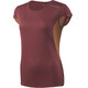 Houdini W's Swifty Tee Pava Red/Saddle Brown